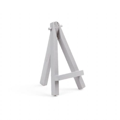 "Grey Colour Mini Easel 5"" - Beech Wood"